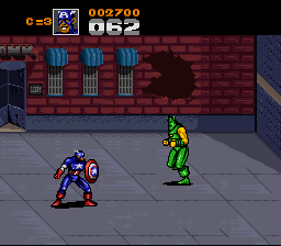Captain America And The Avengers (SNES)  © Mindscape 1993   3/3