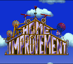 Home Improvement (SNES)   © Absolute 1994    1/3