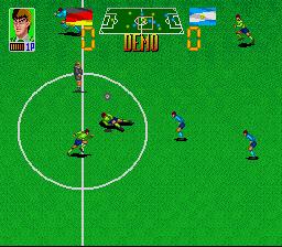 Euro Football Champ (SNES)  © Taito 1992   2/3