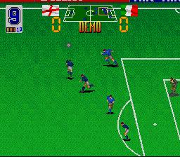 Euro Football Champ (SNES)  © Taito 1992   3/3