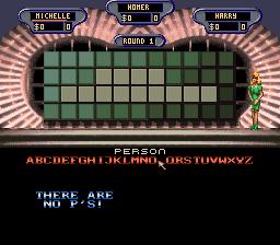 Wheel Of Fortune (SNES)  © GameTek 1992   3/3