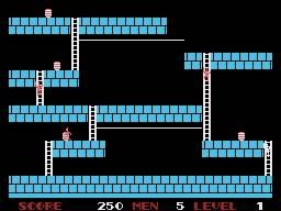 Lode Runner (SG1)  © Sega 1984   2/4