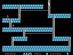 Lode Runner (SG1)  © Sega 1984   3/4
