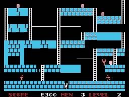 Lode Runner (SG1)  © Sega 1984   4/4