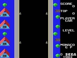 Monaco GP (SG1)  © Sega 1983   2/3