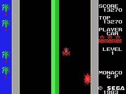 Monaco GP (SG1)  © Sega 1983   3/3