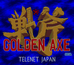 Golden Axe (PCCD)  © Telenet 1990   1/6
