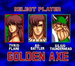 Golden Axe (PCCD)  © Telenet 1990   2/6