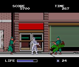 Ninja Warriors (PCE)  © Taito 1989   2/5
