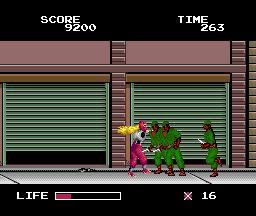 Ninja Warriors (PCE)  © Taito 1989   3/5