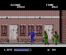 Ninja Warriors (PCE)  © Taito 1989   5/5
