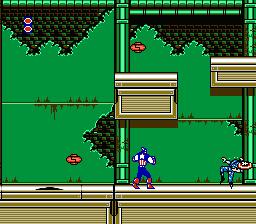 Captain America And The Avengers (NES)  © Data East 1991   3/3