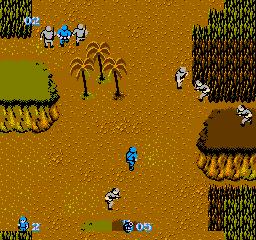 Commando (NES)  © Capcom 1986   3/3