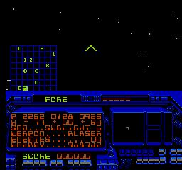 Destination Earthstar (NES)  © Acclaim 1990   2/3