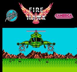 Fire Hawk  © Players 1987  (NES)   1/3