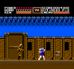 Fist Of The North Star (NES)   © Taxan 1987    2/3