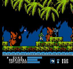 G.I. Joe: A Real American Hero (NES)  © Taxan 1991   2/3