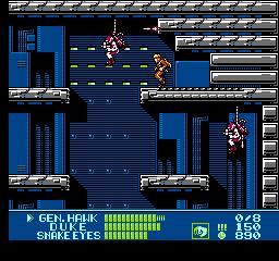 G.I. Joe: A Real American Hero (NES)  © Taxan 1991   3/3