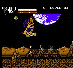 Godzilla: Monster Of Monsters! (NES)  © TOHO 1988   3/3