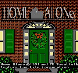 Home Alone (NES)  © THQ 1991   1/3