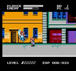 Mighty Final Fight (NES)   © Capcom 1993    2/3