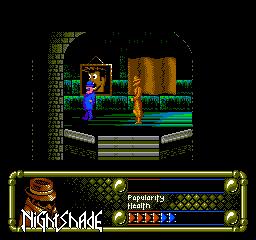 Nightshade (1992) (NES)  © Ultra Games 1992   3/3