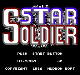 Star Soldier (NES)  © Taxan 1986   1/3