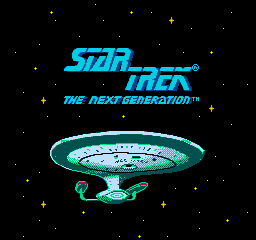 Star Trek: The Next Generation (NES)   © Absolute 1993    1/3