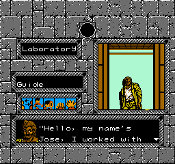 Tombs & Treasure (NES)  © Infocom 1988   3/3