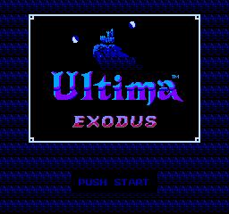Ultima III: Exodus (NES)  © FCI 1987   1/3