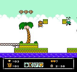 Wacky Races (NES)  © Atlus 1991   3/3