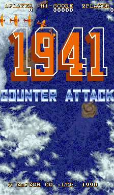 1941: Counter Attack (ARC)   © Capcom 1990    1/5