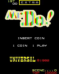 Mr. Do! (ARC)  © Universal 1982   1/5