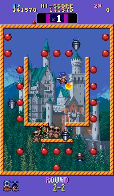 Bomb Jack Twin (ARC)  © NMK 1993   3/4