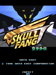 Skull Fang (ARC)   © Data East 1996    1/5