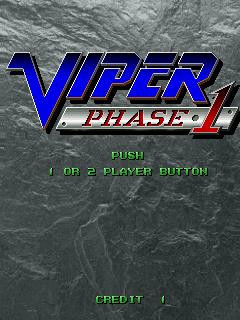 Viper Phase 1 (ARC)  © Seibu Kaihatsu 1995   1/13