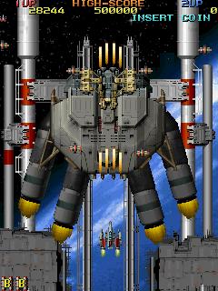 Viper Phase 1 (ARC)  © Seibu Kaihatsu 1995   7/13