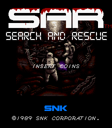 SAR: Search And Rescue (ARC)  © SNK 1989   1/8