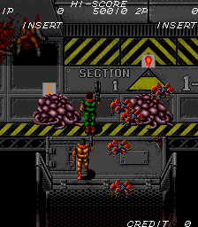 SAR: Search And Rescue (ARC)  © SNK 1989   2/8