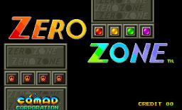 Zero Zone (ARC)  © Comad 1993   1/3