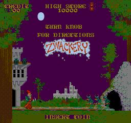 Zwackery (ARC)  © Bally Midway 1986   1/3