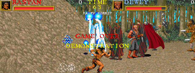 Warrior Blade: Rastan Saga Episode III (ARC)  © Taito 1991   6/14