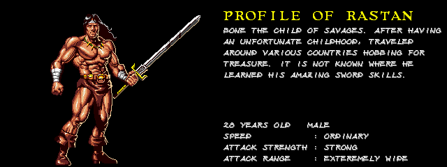 Warrior Blade: Rastan Saga Episode III (ARC)  © Taito 1991   5/14