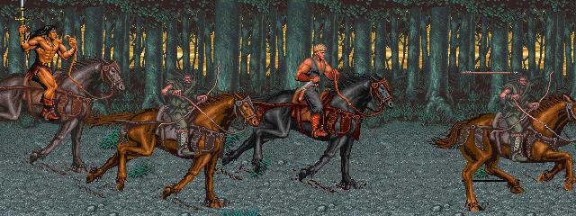 Warrior Blade: Rastan Saga Episode III (ARC)  © Taito 1991   7/14