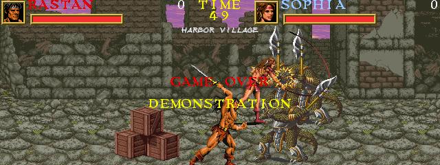 Warrior Blade: Rastan Saga Episode III (ARC)  © Taito 1991   8/14