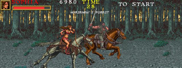 Warrior Blade: Rastan Saga Episode III (ARC)  © Taito 1991   12/14
