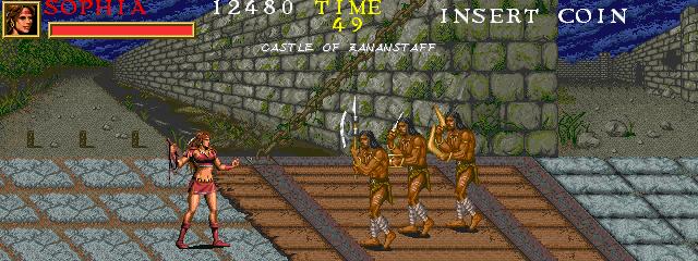 Warrior Blade: Rastan Saga Episode III (ARC)  © Taito 1991   10/14
