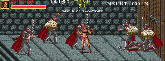 Warrior Blade: Rastan Saga Episode III (ARC)  © Taito 1991   13/14