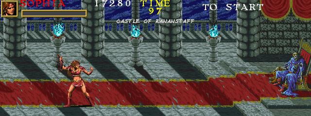 Warrior Blade: Rastan Saga Episode III (ARC)  © Taito 1991   14/14