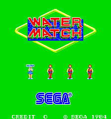 Water Match (ARC)  © Sega 1984   1/4